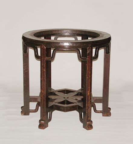 walnut brazier