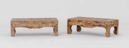 elm footrest, detail