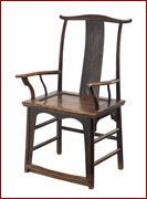 rose chair_blk lac