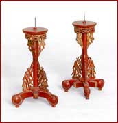 chinese candle stand