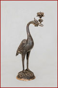 Immortal Crane Candle Stands