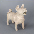 Han pottery dog
