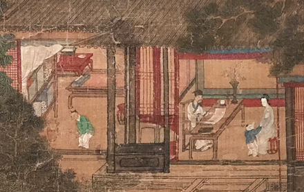 detail from early ming painting